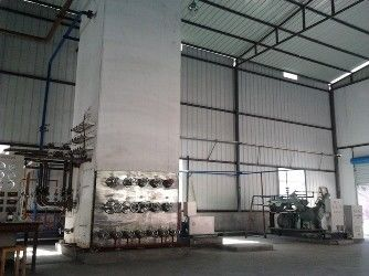 Çin Low Pressure Liquid Oxygen Nitrogen Gas Plant / Cryogenic Air Separation Unit 500KW Fabrika